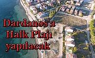 Dardanos'a Halk Plajı yapılacak