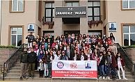 Diyarbakırlı öğrenciler tarihi alanları gezdi