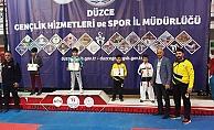 Karatede ilk gün madalyalar geldi