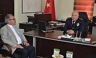 Özacar'dan polislere ziyaret