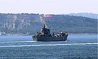 Rus savaş gemileri Boğazı'nda karşılaştı