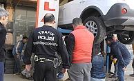 Yunanlı eroin kuryesi tutuklandı