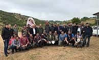 Çan'da avcılar kıyasıya yarıştı