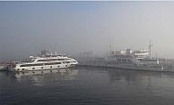 Çanakkale Boğazı'nda yoğun sis