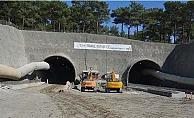 Tüneller de çalışmalar tam gaz