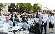 AK Parti'den 10 bin kişilik iftar