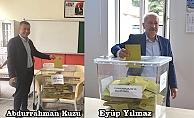 AK Partili Başkanlar da sandık başında…