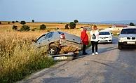 Biga'da kaza: 1 kişi yaralı