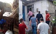 Çanakkale'de eve yıldırım düştü: 1 yaralı