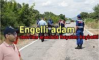 Engelli adam devrilen aracında hayatını kaybetti