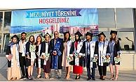 Ezine MYO'da mezuniyet coşkusu