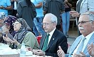 Kılıçdaroğlu, iftar yemeğine katıldı