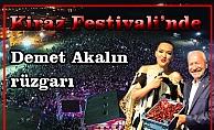 Kiraz Festivali'nde Demet Akalın rüzgarı