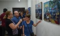 """""""Kıyıda"""" sergisi açıldı"""