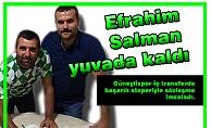 Efrahim Salman yuvada kaldı
