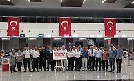 Havalimanında 15 Temmuz etkinliği