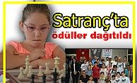 Satranç'ta ödüller dağıtıldı