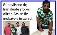 Alican Arslan Güneylispor'da