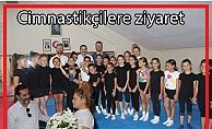 Pınar'dan Cimnastikçilere Ziyaret