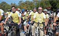 Troia'dan Bergama'ya pedal çevirdiler