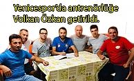 Yenicespor'da görev Özkan'da