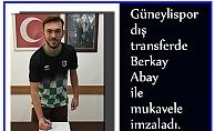 Berkay Abay Güneylispor'da