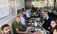 ÇTSO üyeleri kahvaltılı toplantıda buluştu