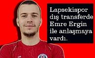 Emre Ergin Lapsekispor'da