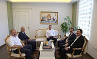 Esnaf temsilcilerinden Vali Tavlı'ya ziyaret