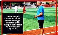 """Hacıhamzaoğlu""""Çanspor'da Hedef Bitmez"""""""