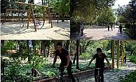 Halk bahçesi yenilenen yüzüyle hizmette