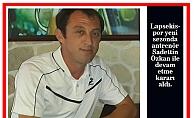Lapsekispor Özkan ile devam