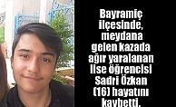 Sadri Özkan hayatını kaybetti