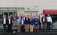 Şahin'den Biga TSO'ya ziyaret