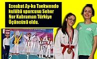 Seher Türkiye Üçüncüsü