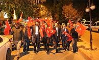 Bayramiç'te Cumhuriyet Yürüyüşü