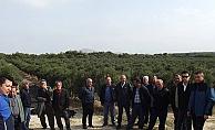Çiftçiler Bozcaada gezisinde buluştu