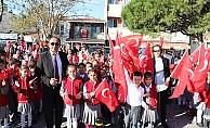 Eceabat'ta Cumhuriyet Bayramı coşkusu