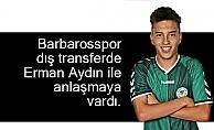 Erman Aydın Barbarosspor'da