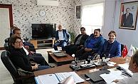 Kent Konseyi Spor Meclisi'nden Müdür Alp'e ziyaret