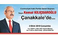 Kılıçdaroğlu Çanakkale'ye geliyor…