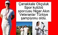 Nigar Akın Türkiye Şampiyonu