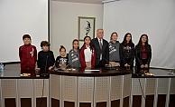 Başkan Gökhan öğrencilerle buluştu