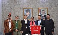 Biga Adaspor Kulübü'nden Valiliğe ziyaret