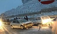 Çanakkale'ye kar düştü