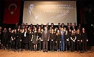 ÇOMÜ'de 10 Kasım törenleri