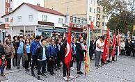 Eceabat'ta Atatürk anıldı