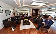 Kooperatif Yönetiminden Başkan Gökhan'a ziyaret