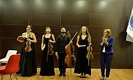 """""""Saygun Quartet"""" Çanakkale'de sahne aldı..."""
