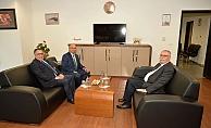 Başkan Gökhan'dan ziyaretler